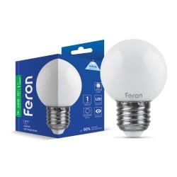 Світлодіодна лампа Feron LB-37 1W E27 6400K