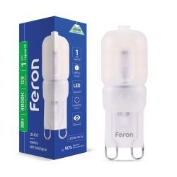 Светодиодная лампа Feron LB-430 3W G9 4000K