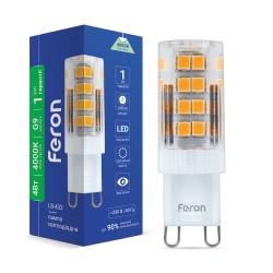 Светодиодная лампа Feron LB-432 4W G9 4000K