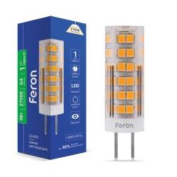 Светодиодная лампа Feron LB-433 5W 230V G4 2700K