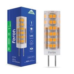 Светодиодная лампа Feron LB-433 5W 230V G4 4000K