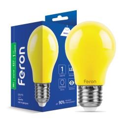 Світлодіодна лампа Feron LB-375 3W E27 жовта