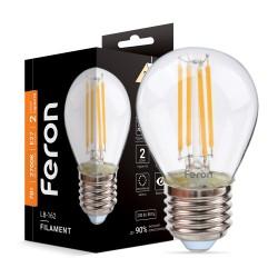 Светодиодная лампа Feron LB-162 7W E27 2700K