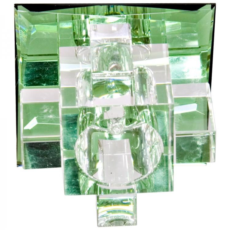 Встраиваемый светильник Feron 1525 зеленый