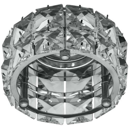Встраиваемый светильник Feron CD4527 прозрачный хром