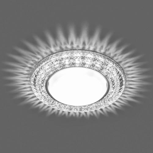Встраиваемый светильник Feron CD4020 с LED подсветкой