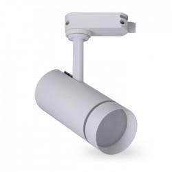 Трековый светильник Feron AL106  18W белый