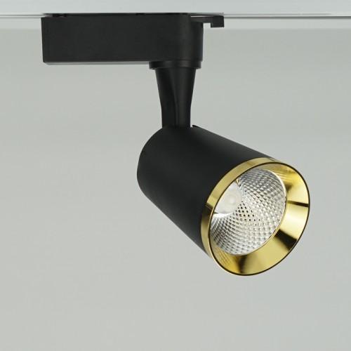 Трековый светильник Feron AL111 10W черный-золото