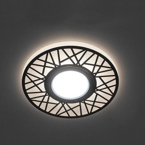 Встраиваемый светильник Feron CD991 с LED подсветкой