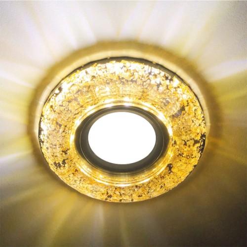 Встраиваемый светильник Feron CD830 с LED подсветкой
