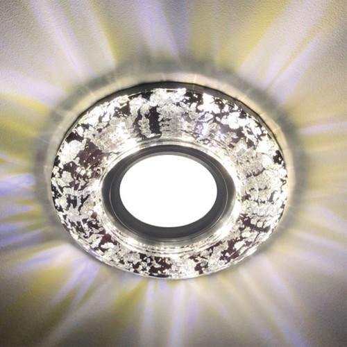 Встраиваемый светильник Feron CD831 с LED подсветкой