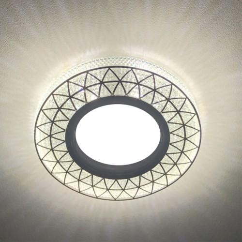 Встраиваемый светильник Feron CD832 с LED подсветкой