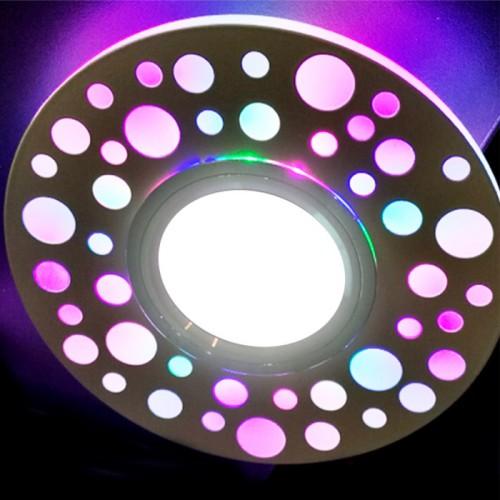 Встраиваемый светильник Feron CD989 с RGB подсветкой