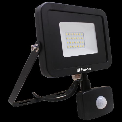 Светодиодный прожектор Feron LL-803 30W с датчиком движения