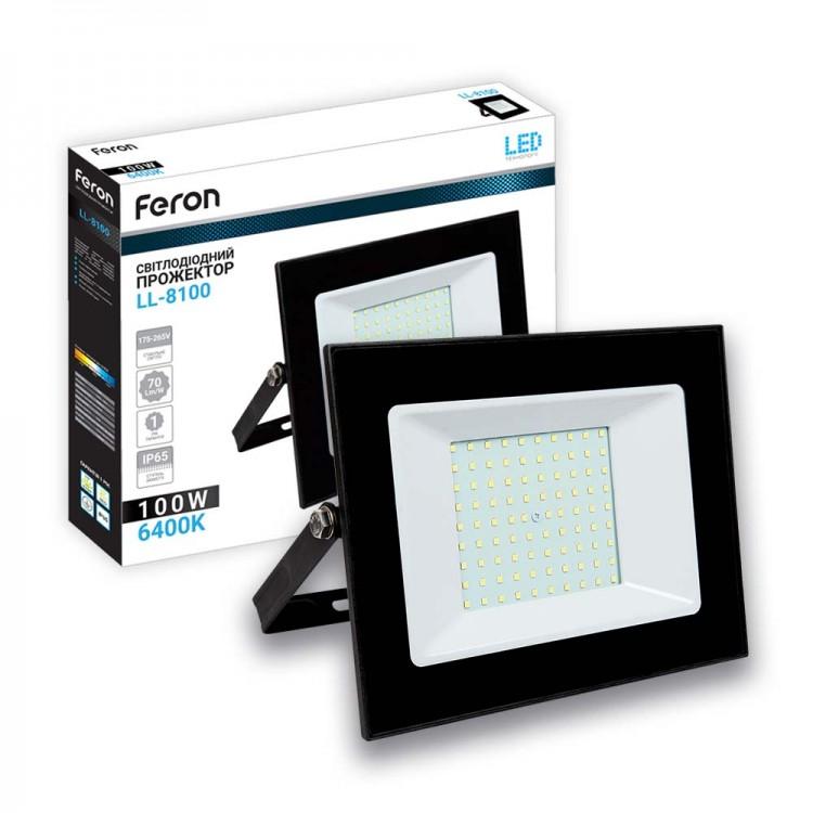 Светодиодный прожектор Feron LL-8100 100W