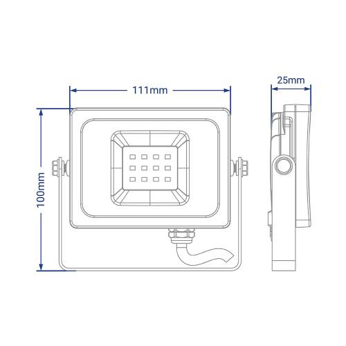 Світлодіодний прожектор Feron LL-851 10W