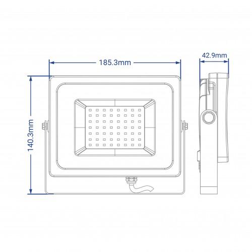 Світлодіодний прожектор Feron LL-9050 50W