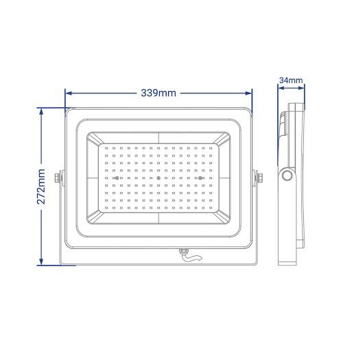 Светодиодный прожектор Feron LL-923 150W