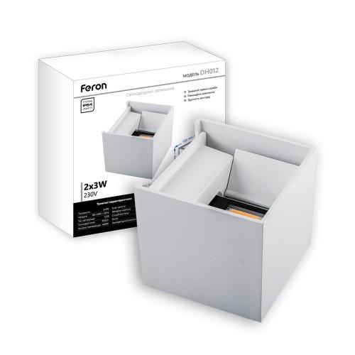 Архітектурний світильник Feron DH012 білий