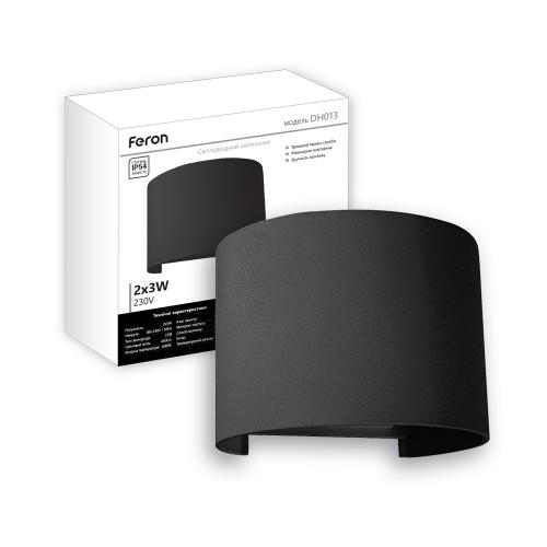 Архітектурний світильник Feron DH013 чорний