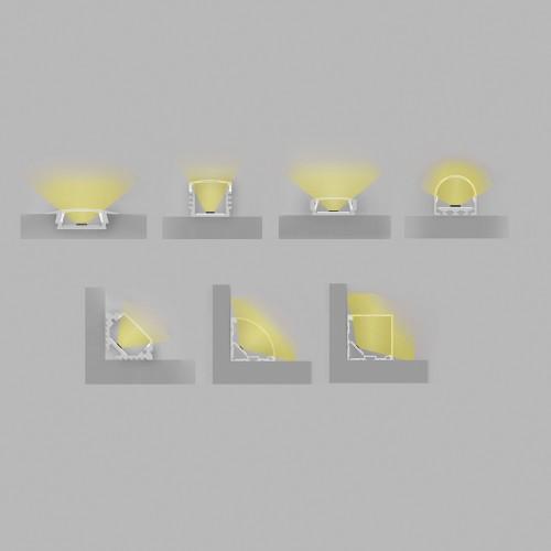 Профиль для светодиодной ленты Feron CAB280