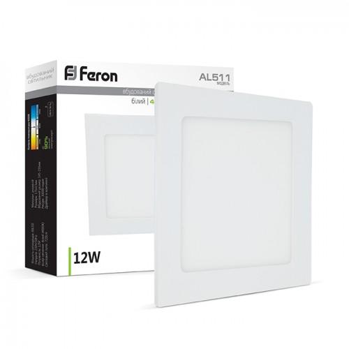 Светодиодный светильник Feron AL511 12W белый