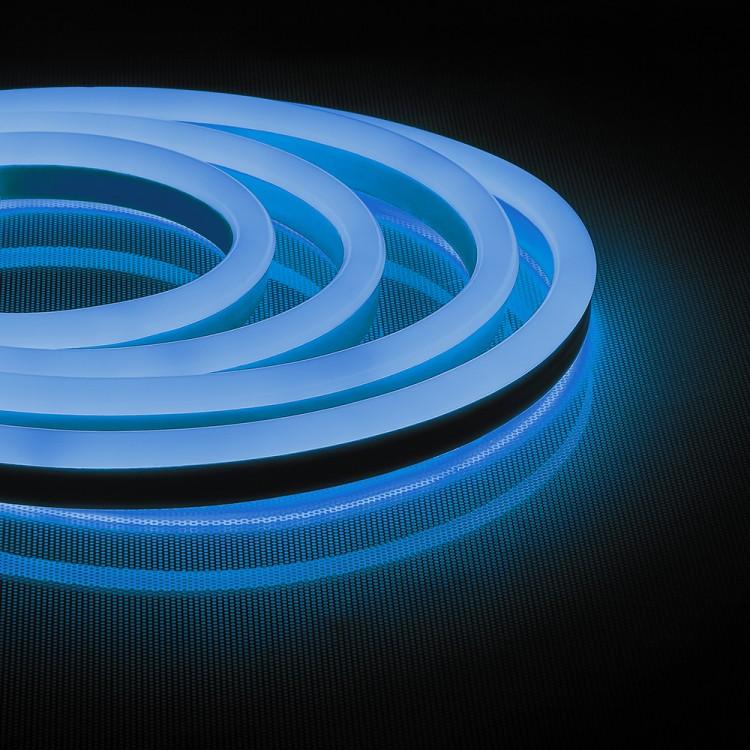 Світлодіодна неонова стрічка Feron LS720 120SMD / м 220V IP65 синій