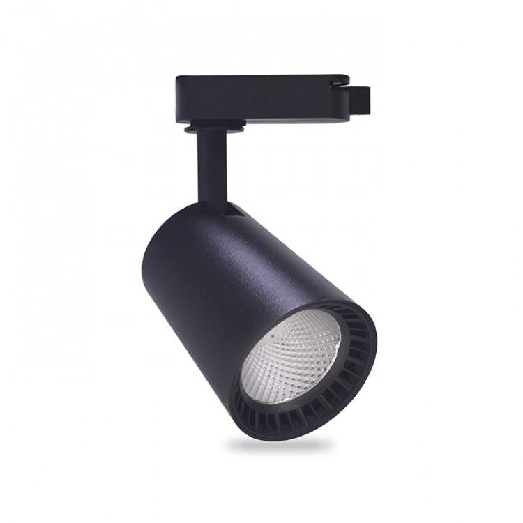 Трековый светильник Feron AL100 8W черный