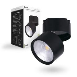 Трековый светильник Feron AL107 14W черный