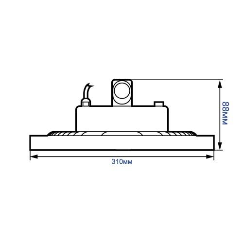 Промышленный светодиодный светильник AL1004 200W
