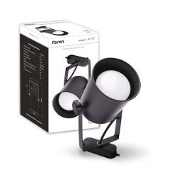 Трековый светильник Feron AL157 черный
