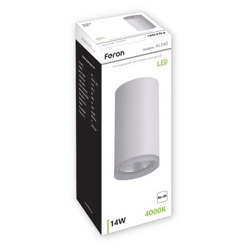 Cветодиодный светильник Feron AL540 14W белый
