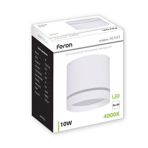 Cветодиодный светильник Feron AL543 10W белый