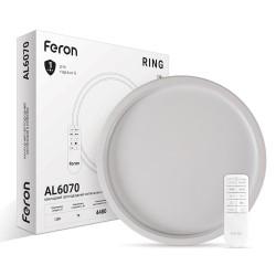 Светодиодный светильник Feron AL6070 RING 70W