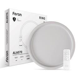 Светодиодный светильник Feron AL6070 RING 90W