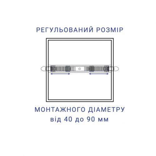 Встраиваемый светодиодный светильник Feron AL704-S 12W