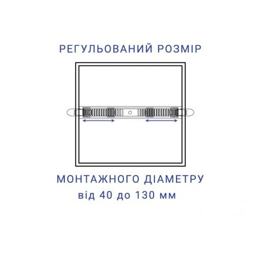Встраиваемый светодиодный светильник Feron AL704-S 18W