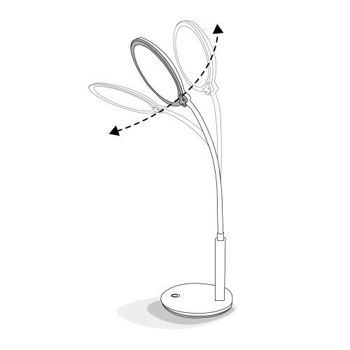 Настольный светодиодный светильник Feron DE1730