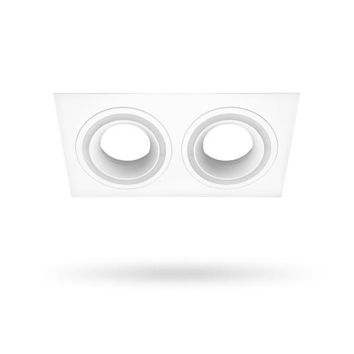 Встраиваемый неповоротный светильник Feron DL6142 белый