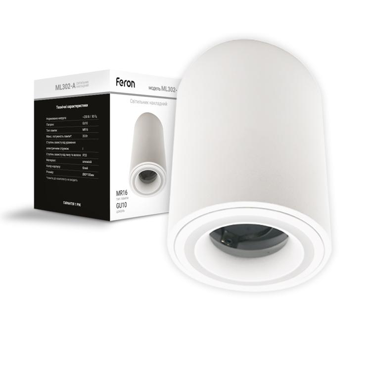 Светильник Feron ML302-A белый