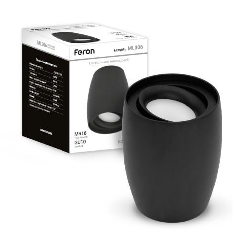 Накладной светильник Feron ML306 черный