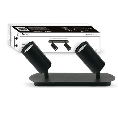 Накладной поворотный светильник ML311-2 черный