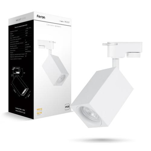 Трековый светильник Feron ML337 белый