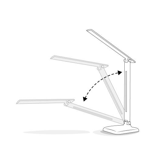 Настольный светодиодный светильник Feron DE1725 розовый