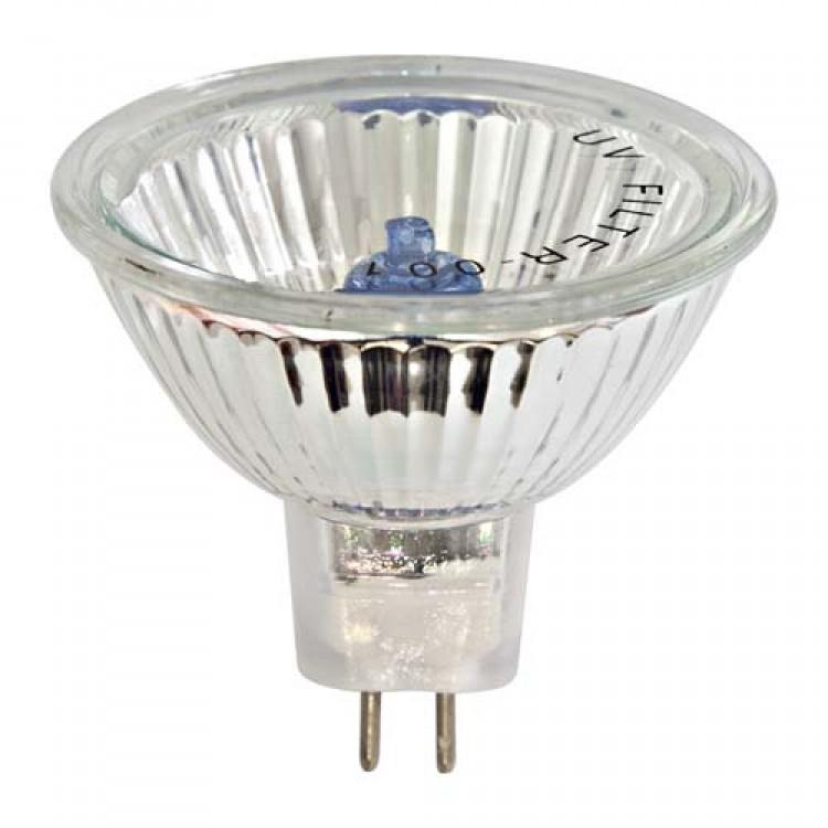 Галогенная лампа Feron HB4 MR-16 12V 50W супер белая (super white blue)