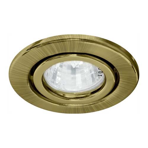 Встраиваемый светильник Feron DL11 античное золото