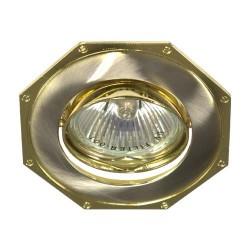 Встраиваемый светильник Feron 305Т MR-16 титан золото