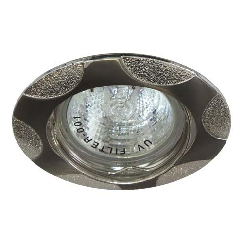 Встраиваемый светильник Feron 156Т MR-16 титан серебро
