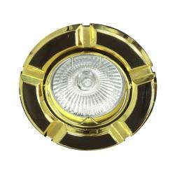 Встраиваемый светильник Feron 098Т MR-16 черный золото