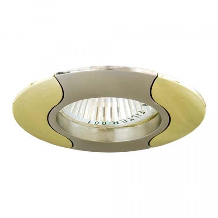 Встраиваемый светильник Feron 020Т MR-16 титан золото